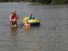 Auch in diesem Jahr war der See warm genug zum Schwimmen.